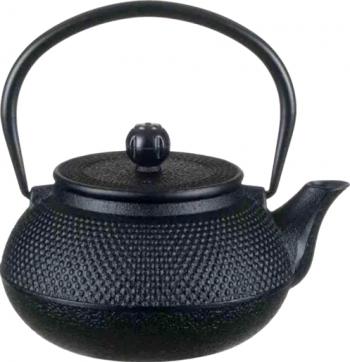 Ceainic din Fonta cu Infuzor si capac 600 ml negru Tea Pray Love Ibrice, Ceainice si Espressoare aragaz