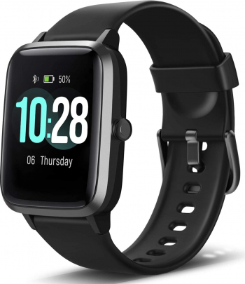 Ceas smartwatch TechONE and trade ID205L 1.4 inch Touchscreen multi sport stand by 30 zile compatibil bluetooth 5.0 negru Smartwatch