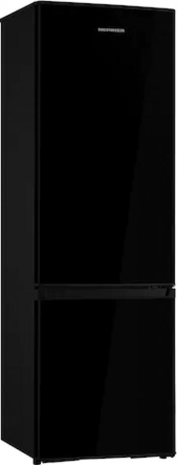 Combina frigorifica Heinner HC-H273BKF+ 264 l Clasa A+ Iluminare LED Control mecanic Termostat ajustabil H 176 cm Negru
