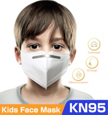Masti de Protectie pentru copii KN95 5 Bucati 5-12 Masti chirurgicale si reutilizabile