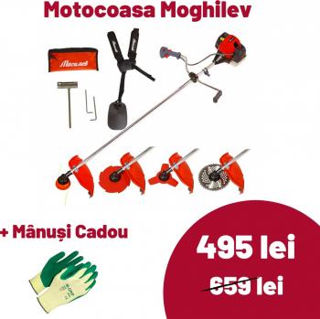 Motocoasa pe benzina in 2 Timpi Mogilev M5500 5.8 CP 4 Sisteme de Taiere Coase electrice & motocoase