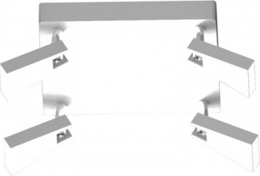 PLAFONIERA SPAZIO CK99603A-4 Corpuri de iluminat