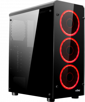 Unitate PC Gaming/Office Intel Core I5-6500 3.20 Ghz 16GB RAM DDR4 Nvidia GTX 1060 6GB 500GB SSD M.2 - RED EDITION Calculatoare Desktop