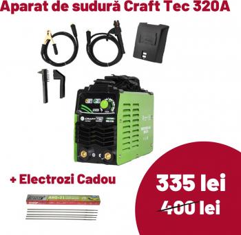 Aparat de sudura - Invertor Craft-Tec Profesional 320A 320AH MMA Aparate de sudura