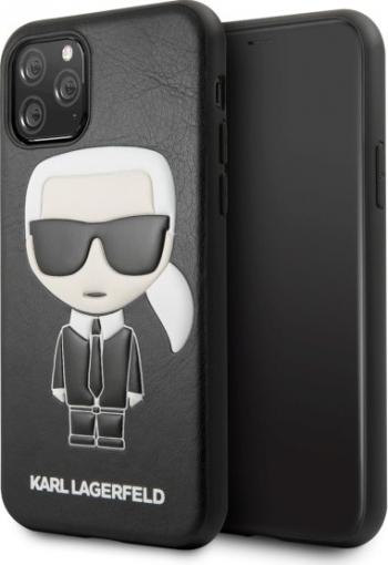 Husa Originala Premium Karl Lagerfeld iPhone 11 Pro Iconic Karl Embossed - Klhcn58ikpubk Huse Telefoane