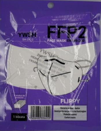 Set 20 masti de protectie FFP2 model KN95 5 straturi ambalaj individual Masti chirurgicale si reutilizabile