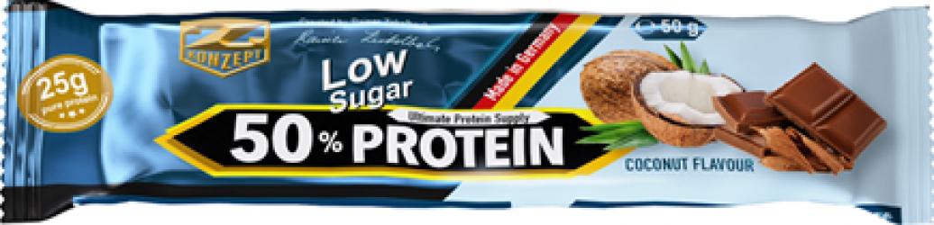 Baton Proteic 50 - 50g Cocos Suplimente fitness