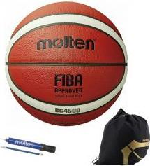 Minge baschet Molten B7G4500 aprobata FIBA marime 7 pompa DHP21 si sac
