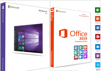 Office 2019 Pro Plus + Windows 10 Pro Retail All languages persoane fizice si juridice licenta permanenta Aplicatii desktop