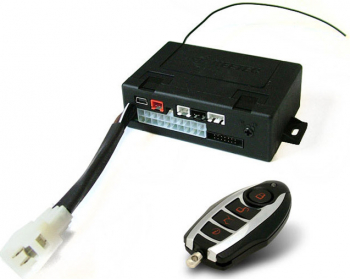Alarma auto KeeTec cu 1 telecomanda RC Moto functie imobilizare masina modul Can Bus Alarme auto si Senzori de parcare