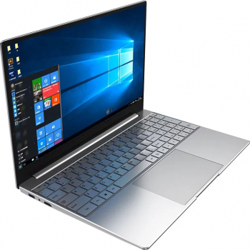 Laptop HeroBook Intel Core i3 2.4 GHz memorie 8GB SSD 256GB + HDD 500 GB 15.6 FHD tastatura iluminata Platinum Grey Laptop laptopuri
