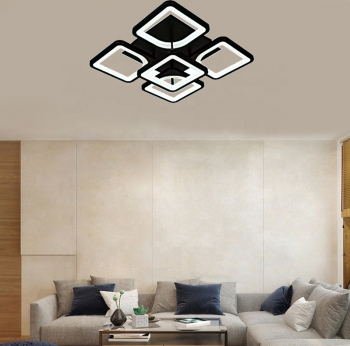 Lustra LED Creative Ceiling 5 Mini Negru Corpuri de iluminat