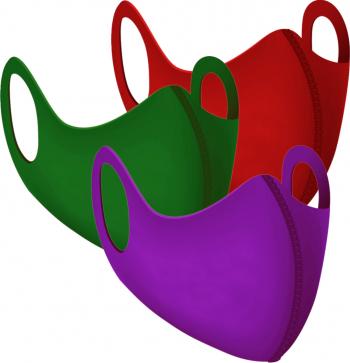Set 3 bucati masca colorata neopren dama Masti chirurgicale si reutilizabile