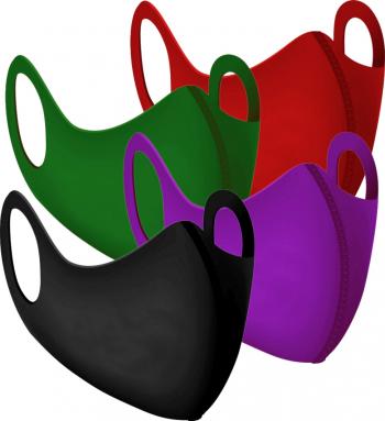 Set 4 bucati masca neopren colorata dama Masti chirurgicale si reutilizabile