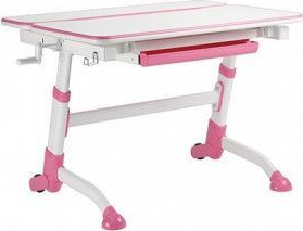 Birou ergonomic ajustabil pentru copii ErgoK E401 Roz