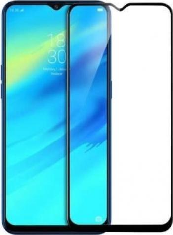 Folie Sticla 6D Pentru Samsung Galaxy A20 A205 Neagra Folii Protectie
