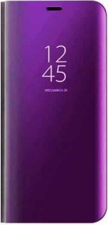 Husa compatibila cu Huawei P30 Pro Clear View Flip Mirror Stand Mov Huse Telefoane