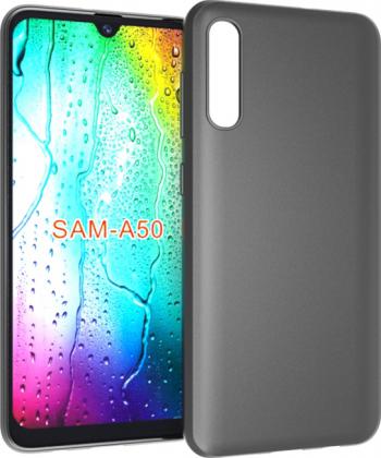 Husa Samsung Galaxy A50 A505 - Silicon Slim Neagra Huse Telefoane