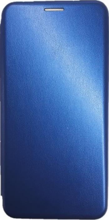 Husa Flip Cover Magnetic compatibila cu Huawei P40 Lite Blue
