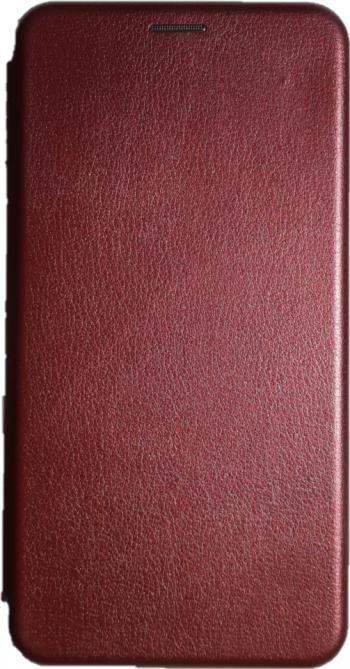 Husa Flip Cover Magnetic Pentru Huawei P30 Pro Visiniu Huse Telefoane