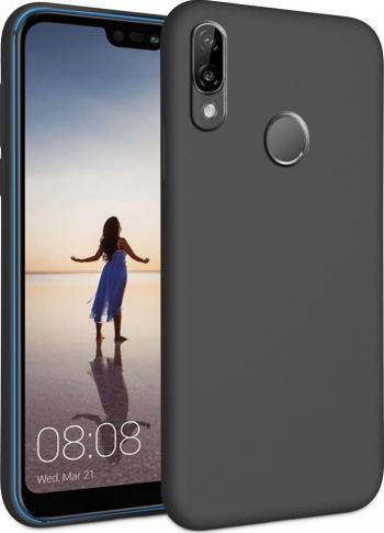 Husa Huawei P20 Pro - Silicon Negru Huse Telefoane