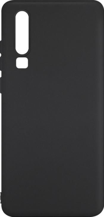 Husa Huawei P30 - Silicon Negru Huse Telefoane