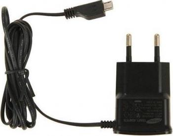 Incarcator USB 700mA original Samsung ETA0U10EBE Micro USB negru