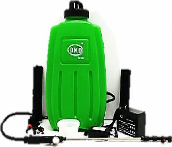 Vermorel cu acumulator DKD KF-16C-10 12 V rezervor 16 litri presiune maxima 4.5 bar