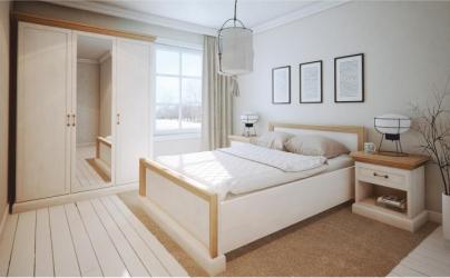 Ansamblu dormitor pin nordic/stejar salbatic ROYAL