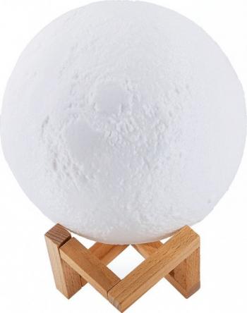 Lampa veghe Luna Moon Lamp 18 cm imprimata 3D
