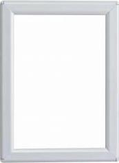 Rama foto click format A6 - 105x148mm din aluminiu alb