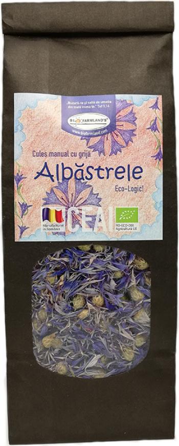 Ceai Albastrele 40g Bio/ECO Biofarmland Produse gourmet