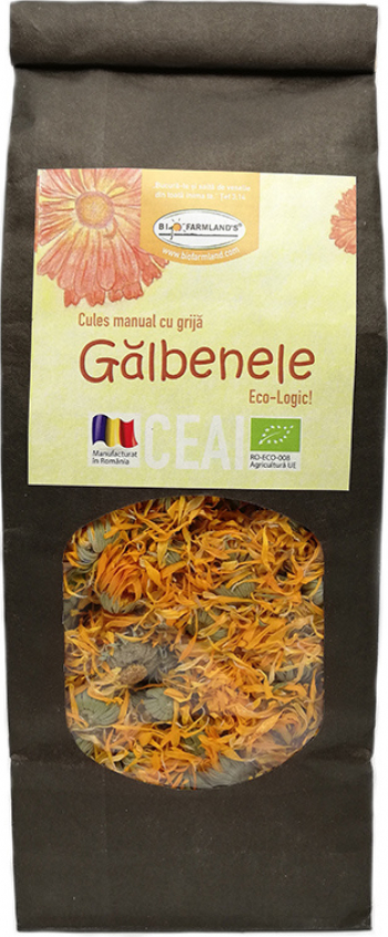 Ceai Galbenele 50g Bio/ECO Biofarmland Produse gourmet