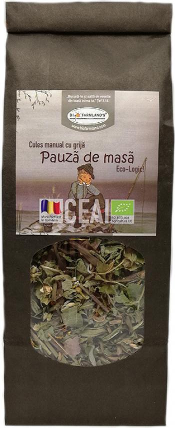 Ceai Pauza de masa 50g Bio/ECO Biofarmland Produse gourmet
