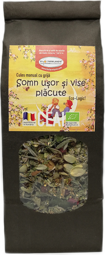 Ceai Somn Usor 50g Bio/ECO Biofarmland Produse gourmet