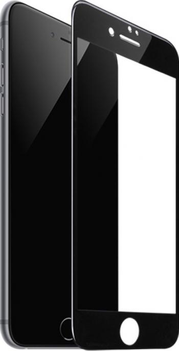 Folie Sticla Securizata Premium Full Cover Hoco Compatibila Cu iPhone 7 / 8 / Se 2 2020 Transparenta Cu Margine Neagra