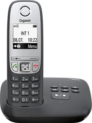 Gigaset A415A Telefon wireless DECT Negru