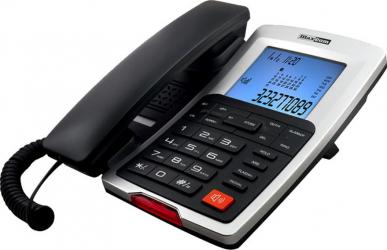 Telefon cu fir Maxcom KXT709 Graphite Silver