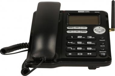 Telefon fix MaxCom Comfort MM29D 3G Black cu SIM