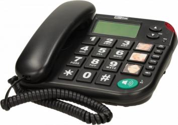 Telefon fix MaxCom KXT480 Black Telefoane