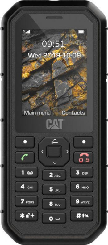 Telefon mobil CAT B26 Dual SIM Black Telefoane Mobile