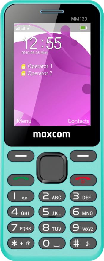 Telefon mobil Dual SIM MaxCom Classic MM139 2G Blue Telefoane Mobile