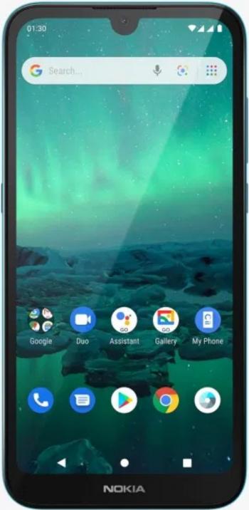Telefon mobil Dual SIM Nokia 1.3 16 GB + 1 GB RAM Cyan Telefoane Mobile