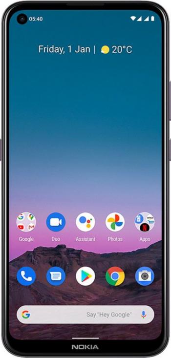 Telefon mobil Dual SIM Nokia 5.4 64 GB + 4 GB RAM Dusk Telefoane Mobile