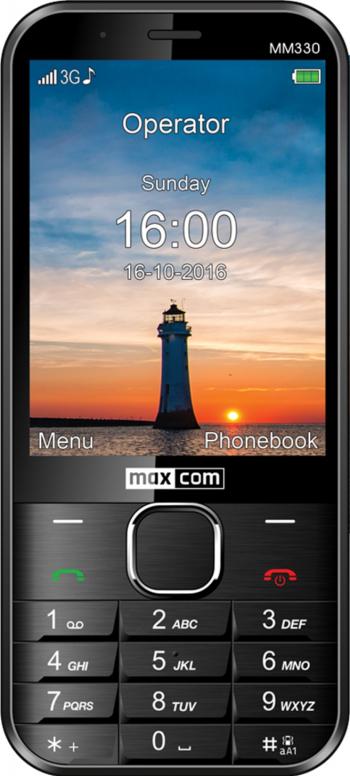 Telefon mobil MaxCom Classic MM330 Black