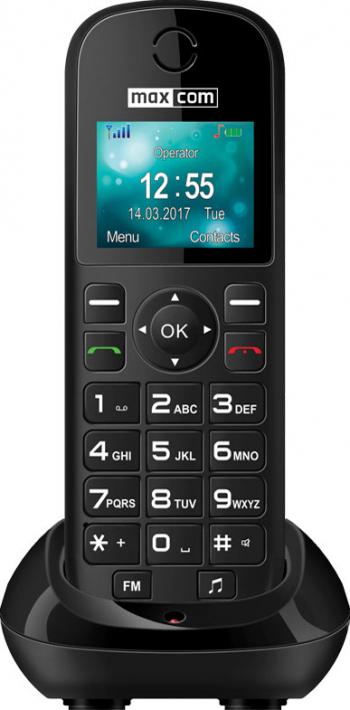 Telefon mobil MaxCom Comfort MM35D Black