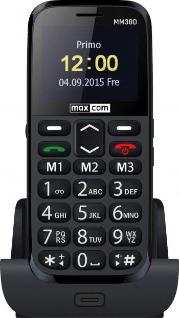 Telefon mobil MaxCom Comfort MM38D Black