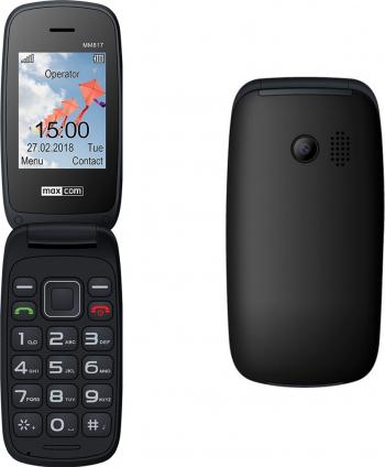 Telefon mobil MaxCom Comfort MM817 Dual SIM 2G Black Telefoane Mobile