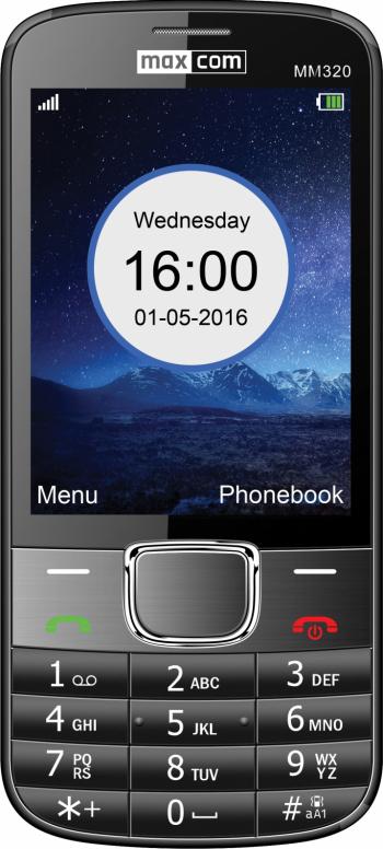 Telefon mobil Single SIM MaxCom Classic MM320 Black