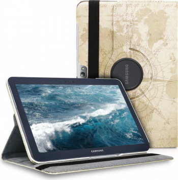 Husa pentru Samsung Galaxy Note 10.1 N8000 Piele ecologica Maro 44748.01 Huse Tablete